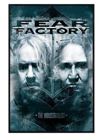 Gloss Black Framed The Industrialist - Fear Factory  http://www.popartuk.com/music/gloss-black-framed-the-industrialist-61242-p-pp33230-framed-poster.asp  #FearFactory #TheIndustrialist #Rock