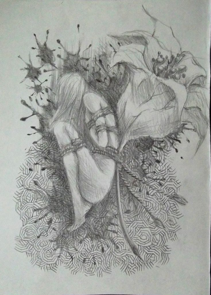 #drawing #sketch #illustration #pencil #art #artwork #fineart #doodle #dibujo #gloomy #psychedelic #bound #crestfallen #adelphoia3