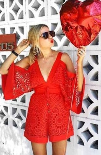ALICE-MCCALL-034-keep-me-there-034-red-playsuit-jumpsuit-8-NWOT