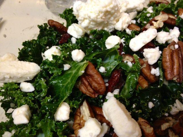 kale quinoa salad feta