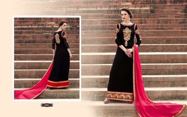 The traditional Indian look has a special appearance and space in modern fashion world. It's because Indian suits look, give more elegance and stylish looks to woman. So if you wanna look fabulous ...
