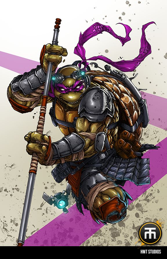 'Donatello' by Harvey Tolibao. I'm loving his take on Teenage Mutant Ninja Turtles (2014). I was lucky enough to meet him at Armageddon 2012. His work on Marvel and DC projects are inspiring.