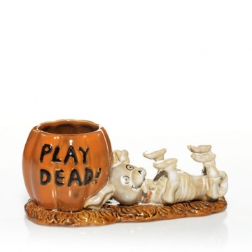 boney bunch doggie play dead - want it