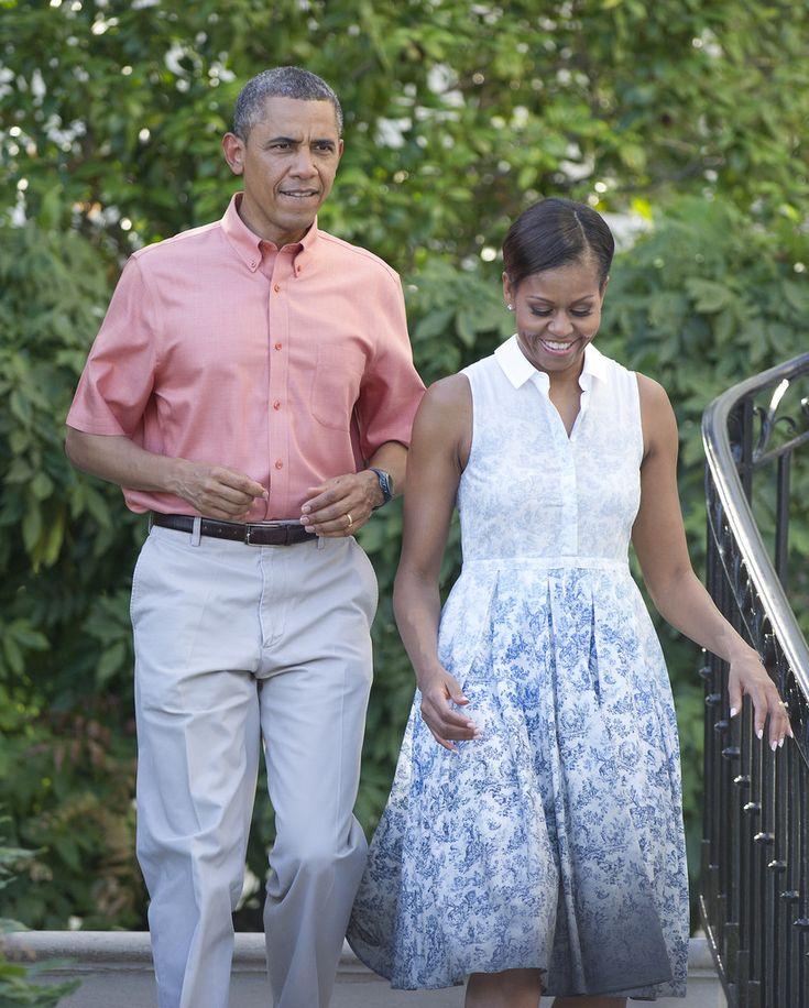 Michelle Obama - Barack Obama Celebrates Independence Day