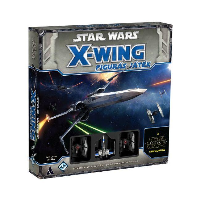Star Wars X-Wing: Az Ébredő Erő figurás játék - stratégiai társasjáték 14 éves kortól - Delta Vision