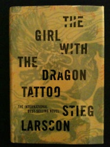 The Girl with the Dragon Tatoo by Stieg Larsson