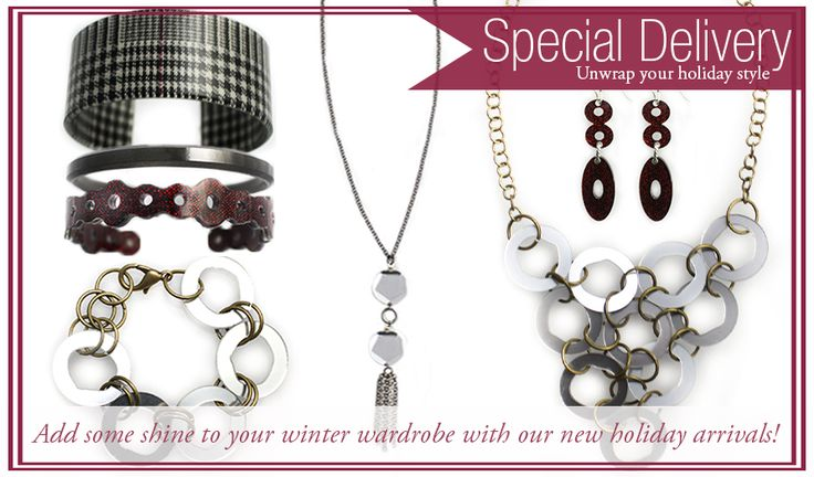 Shop our new eco-friendly holiday jewelry collection