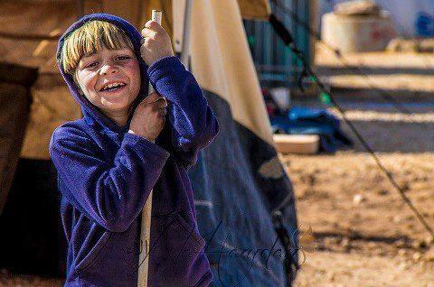 أطفال سوريا .. لله دركم ... أخجلتم لحظات يأســنا ....