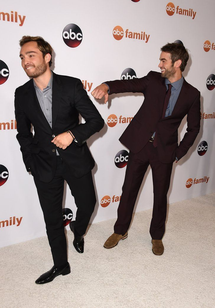 Ed Westwick Chace Crawford Gossip Girl Reunion Red Carpet | Hey Upper East Siders, You Need to See This Hilarious Gossip Girl Reunion | POPSUGAR Celebrity Photo 3