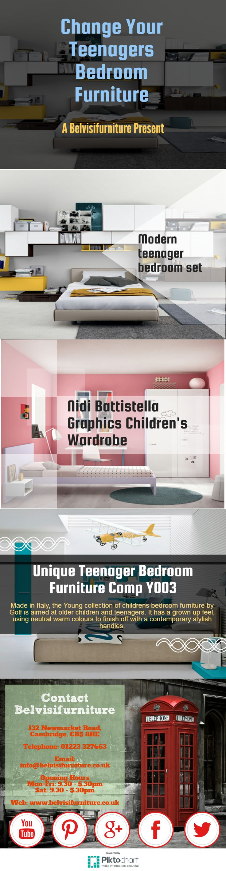 teenagers bedroom furniture. #Infographics Change Your Teenagers Bedroom Furniture P