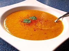 Rote Linsen - Kokos - Suppe, ein schönes Rezept aus der Kategorie Gemüse. Bewertungen: 252. Durchschnitt: Ø 4,6.