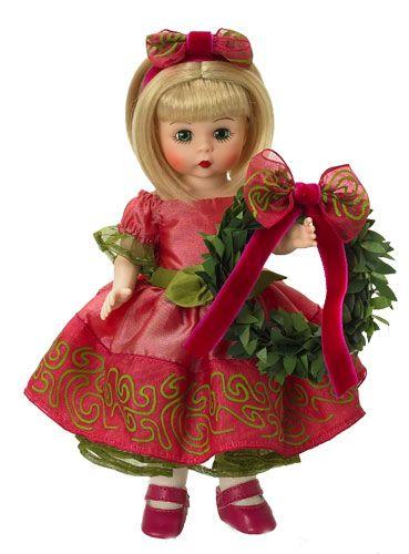 madame alexander christmas  dolls | 25 декабря. Куклы Madame Alexander - Wendy и Maggie