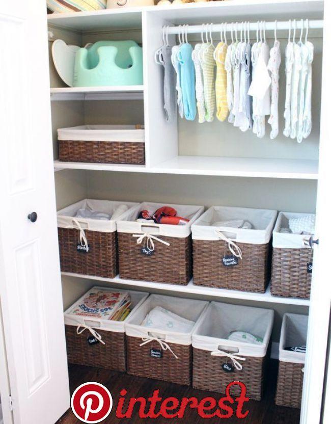 Nursery Closet Organization Ideas For The Perfectly