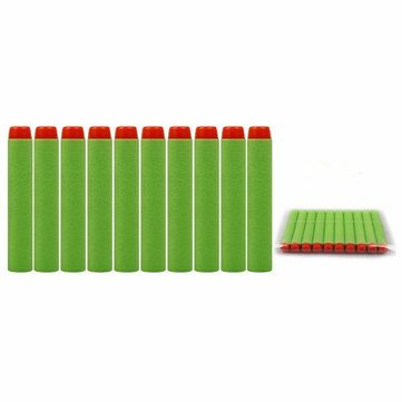 100PCS Refill Green Bullets Dart For Nerf N-strike Elite Rampage Retaliator Series Blasters Sale - Banggood.com