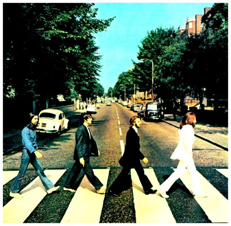 There's never so little traffic on this road as the Beatles would lead you to believe ;)