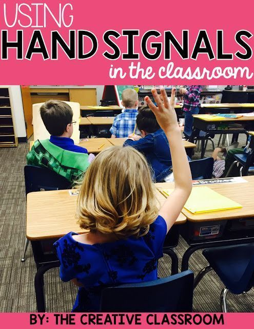Using Hand Signals in the Classroom