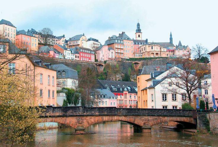 Θα μπορούσε να είναι μια εικόνα από το Λουξεμβούργο του 18ου η 19ου αιώνα!