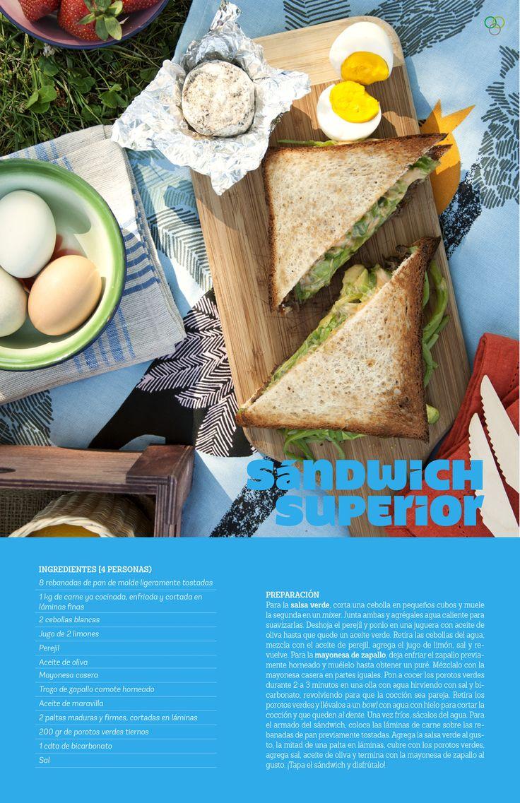 Sándwich superior / IMG Claudio Vera #sanguche #zapallocamote #palta