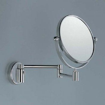Magnifying Mirror Av058C Dual Swivel Arm and Head Chrome