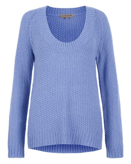 Textured Stitch Chunky Sweater  £79.00  http://www.jigsaw-online.com/textured-stitch-chunky-sweater//jigsaw-clothing/fcp-product/5645 #jigsawessential
