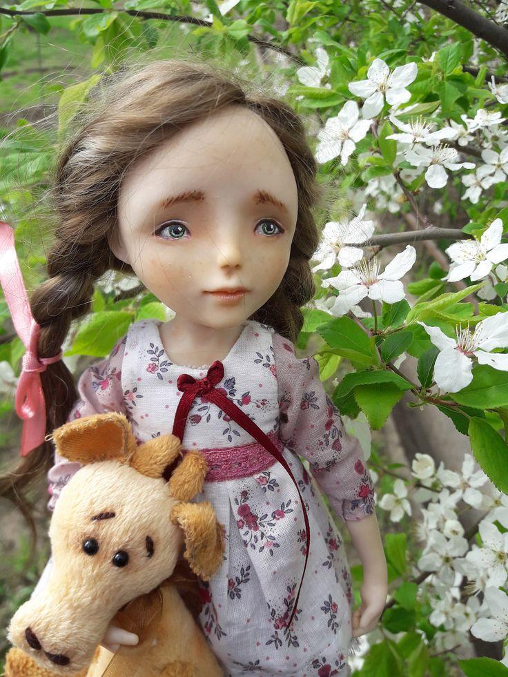 "Art doll of the Lena ""Lena"" by Savkota on Etsy"