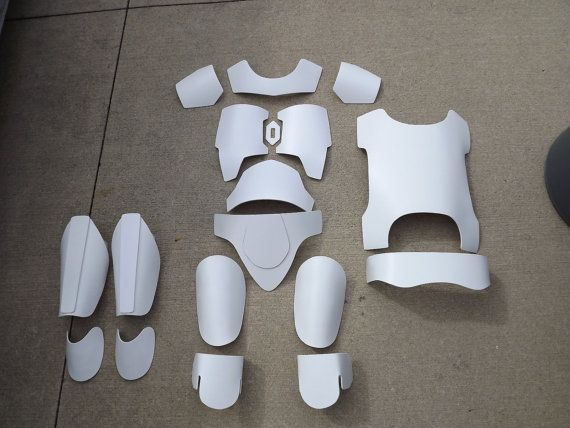 Larger Fan Made Mandalorian Armor set for by SchubysGalacticProps