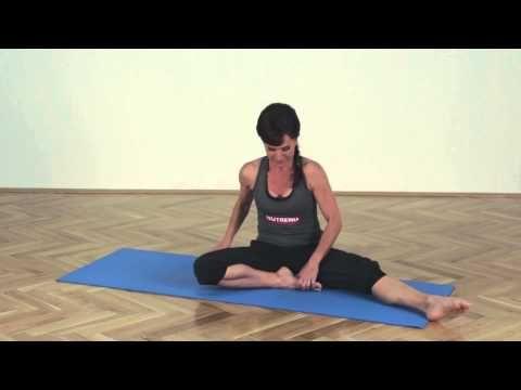 4. Zpevnění břišních svalů - NUTREND - Ve formě a krásná s o Olgou - YouTube