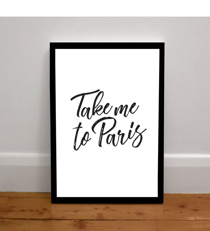 Yaaas! love this so much    Take me to Paris Print by MailedWithLoveAus on Etsy
