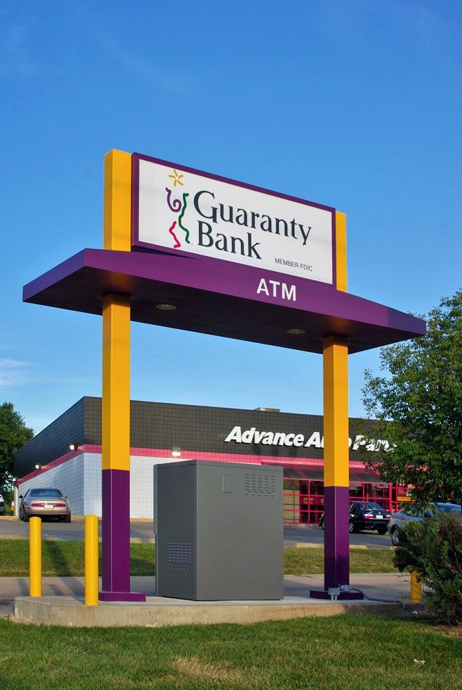 & Guaranty Bank ATM Canopy | ATM Los Angeles | Pinterest