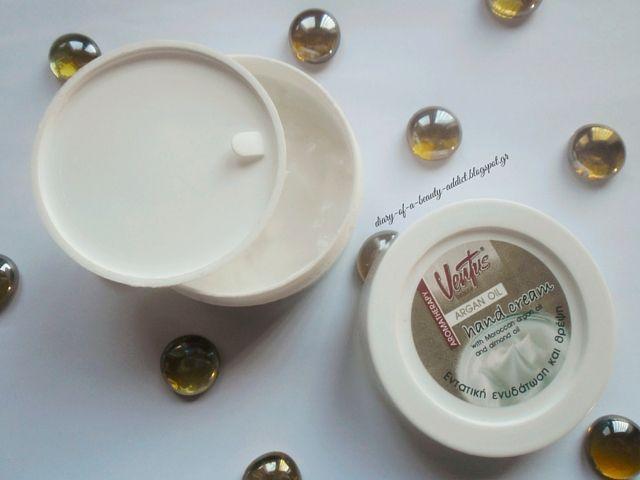 Ventus Hand Cream Argan Oil