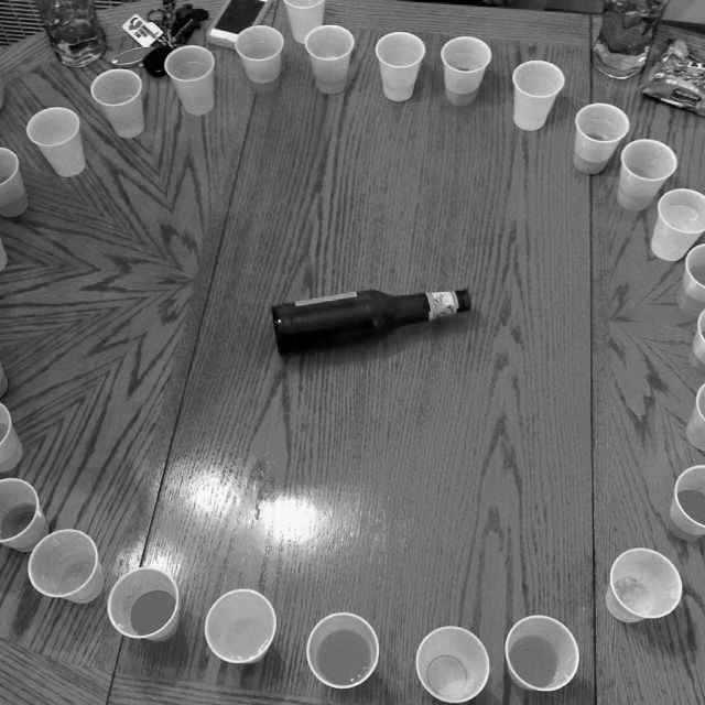 I actually have a real version of shot roulette. I think we should make fun shots