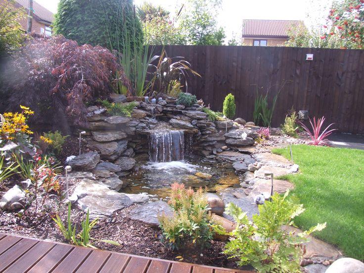 17 best images about fish ponds on pinterest betta tank for Garden pond rockery ideas