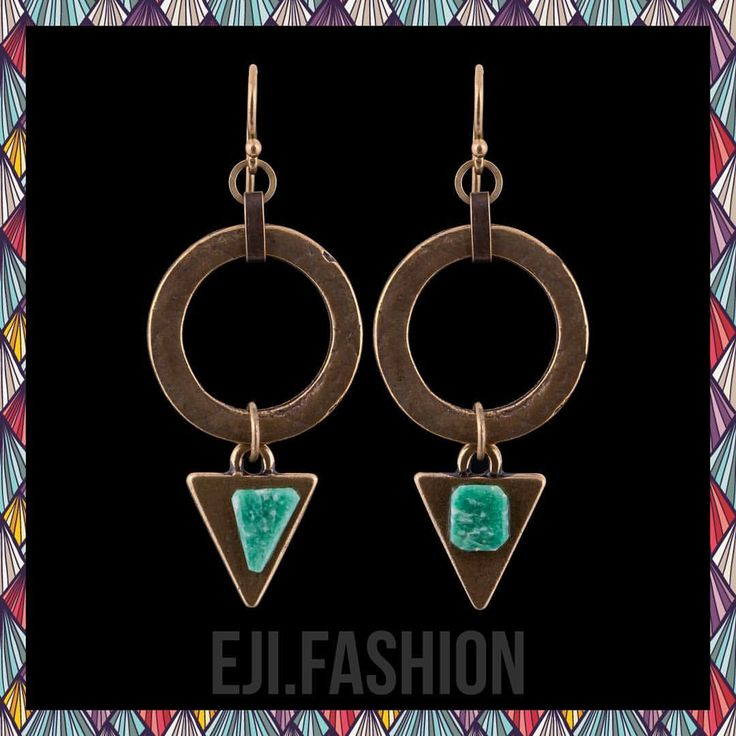 50 отметок «Нравится», 2 комментариев — EJI.FASHION – Bijoux de Luxe (@eji.fashion) в Instagram: «Серьги @eji.fashion с австралийским амазонитом. #earrings_eji #ejifashion #handmade #jewelrygram…»