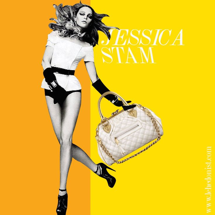 """Another model to have inspired a designer was Jessica Stam who was Marc Jacob's muse for the the bestselling bag Stam. The vintage looking quilted bag quickly became a runaway hit with the fashionistas and is considered one of the 'It' bags of 2000s. Jessica is a renowned supermodel famously part of the """"Doll Faces"""" list of celebrities and models."""