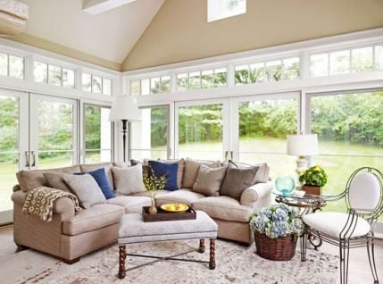 Perfect Vanderbeck Heyrich McLeod Home Features A Bright Sunroom With Pella  Architect Series Windows.