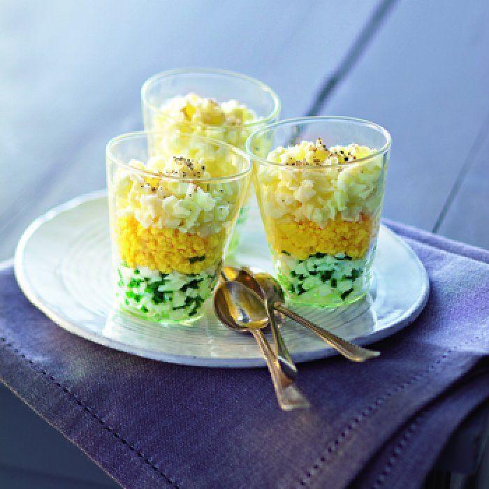 17 meilleures id es propos de recette oeuf mimosa sur pinterest recette mimosa f te du - Idee verrine noel ...