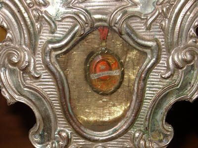 Anonimo, reliquiario di san Sebastiano, Cella sopra Brissago, Svizzera.