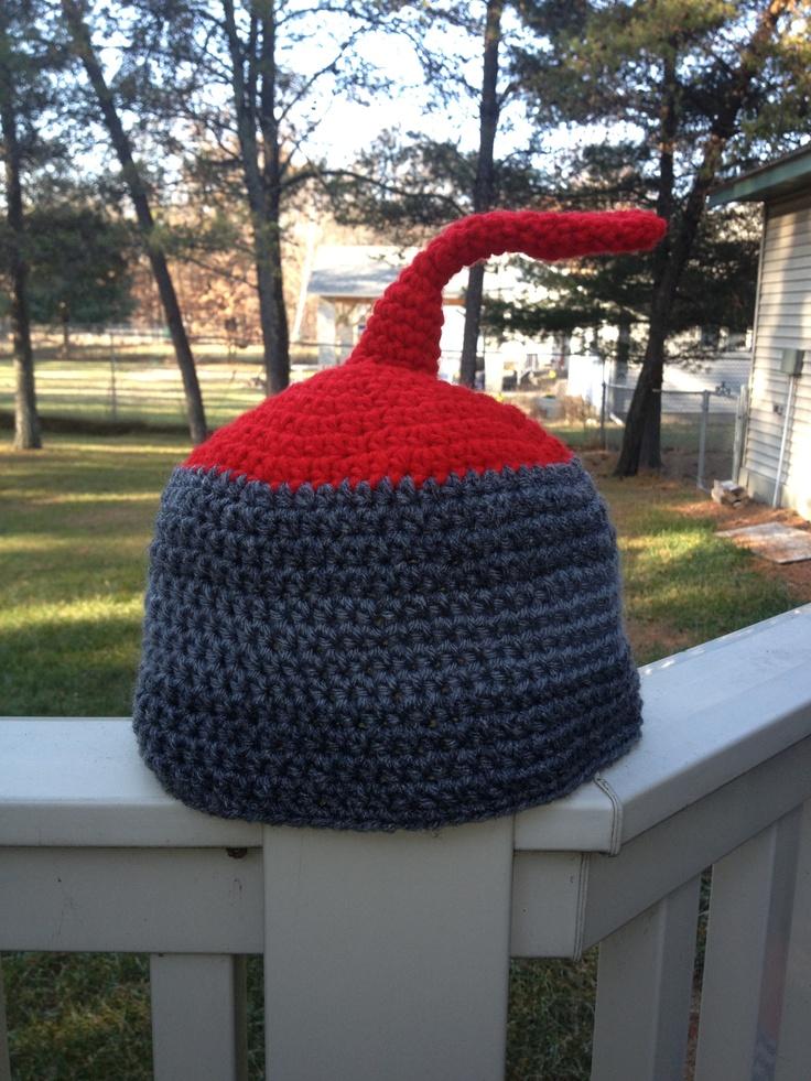 Curling Rock hat