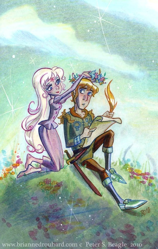 Amalthea and Lir. These are just beautiful. I love her one of Sooz.