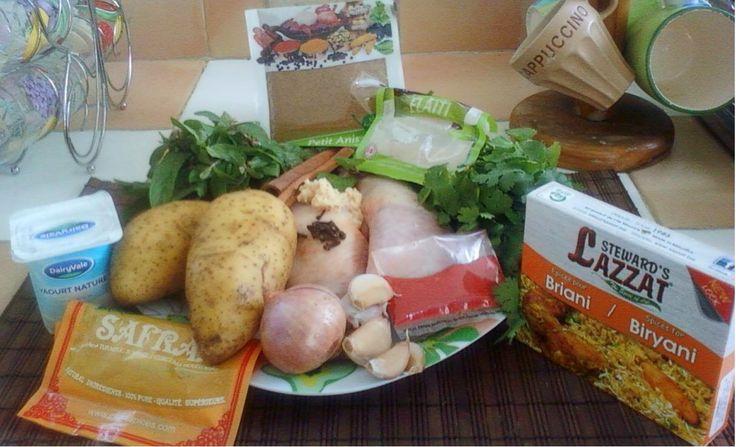 Partager avec plaisir - Recettes de cuisine faciles et idées de décorations : Briani au poulet