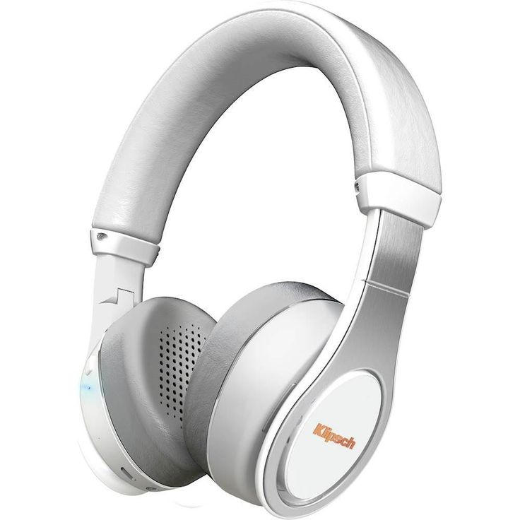 Klipsch - Wireless On-Ear Headphones - White, 1063392 - ON-EAR BT WHITE