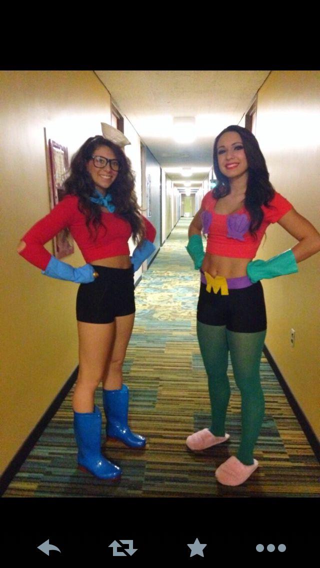 Mermaid man & Barnacle boy costumes!