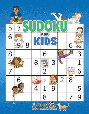 Sudoku for Kids Printable Worksheets and Book