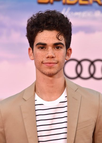 "Cameron Boyce attends the premiere of Columbia Pictures' ""Spider-Man: Homecoming"" at TCL Chinese Theatre on June 28, 2017 in Hollywood, California."