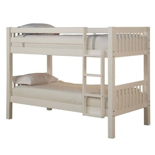 Powell White Twin Bunk Bed In 2 Carton By Furniture
