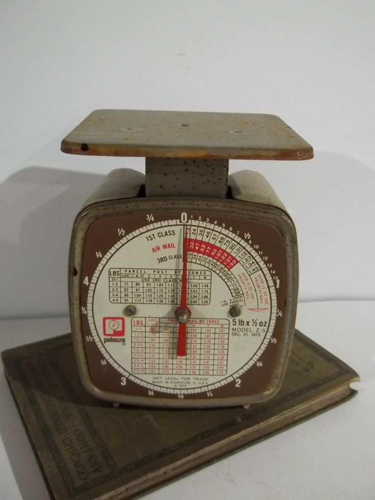 Vintage 5 Pound Pelouze Model Z5 Postal Scale - Mostly Works, Too! by TheDoogieDungeon on Etsy https://www.etsy.com/listing/287412797/vintage-5-pound-pelouze-model-z5-postal