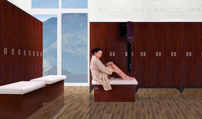 Fitness Lockers, Wood and laminate lockers, Locker room lockers - ATEPAA® Clothes lockers manufacturer