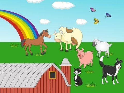 Dans la ferme à Mathurin - YouTube