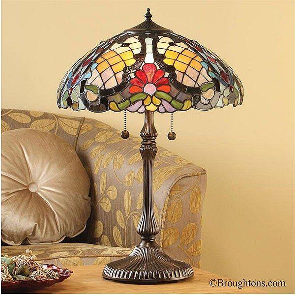 Interiors 1900 Diana Large Tiffany Table Lamp