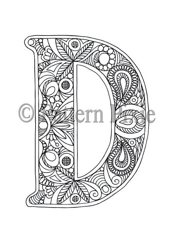 Welcome to my range of Alphabet Letters colouring pages! These are drawn for adults and aspiring young artists. Grab your coloured pencils and